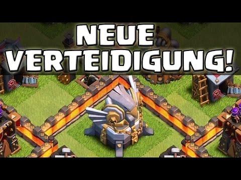 RATHAUS 11 - NEUE VERTEIDIGUNG! - Clash of Clans [Deutsch/German HD+]