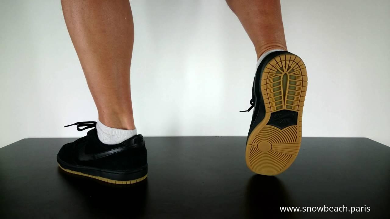 separation shoes a6725 cebea NIKE SB DUNK LOW PRO ISHOD WAIR black black gum light brown