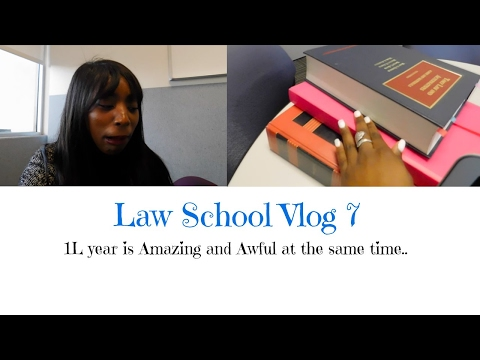 Law School Vlog 7| Awful and Amazing...