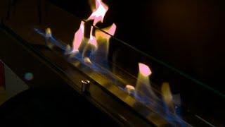Глухой биокамин Lux Fire 1130S / Камин / Фабрика Lux Fire / Видео обзор