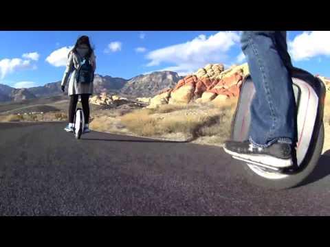 Las Vegas Electric Unicycle Ride