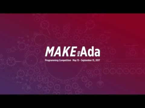 Make with Ada 2017 - Getting Started