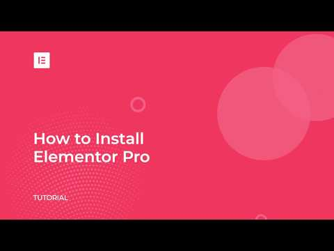 How to Install Elementor Pro