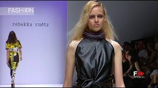 REBEKKA RUETZ Spring Summer 2019 MBFW Berlin - Fashion Channel