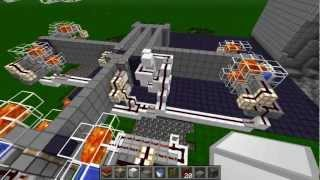 minecraft fully automatic penetrator cannon belt fed