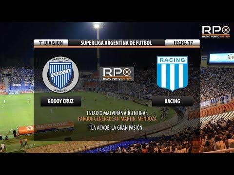 Ver Godoy Cruz vs Racing Club | EN VIVO | Superliga Argentina de Fútbol | Fecha 17