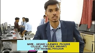 Akshay Pachade's Live Review of Training program...