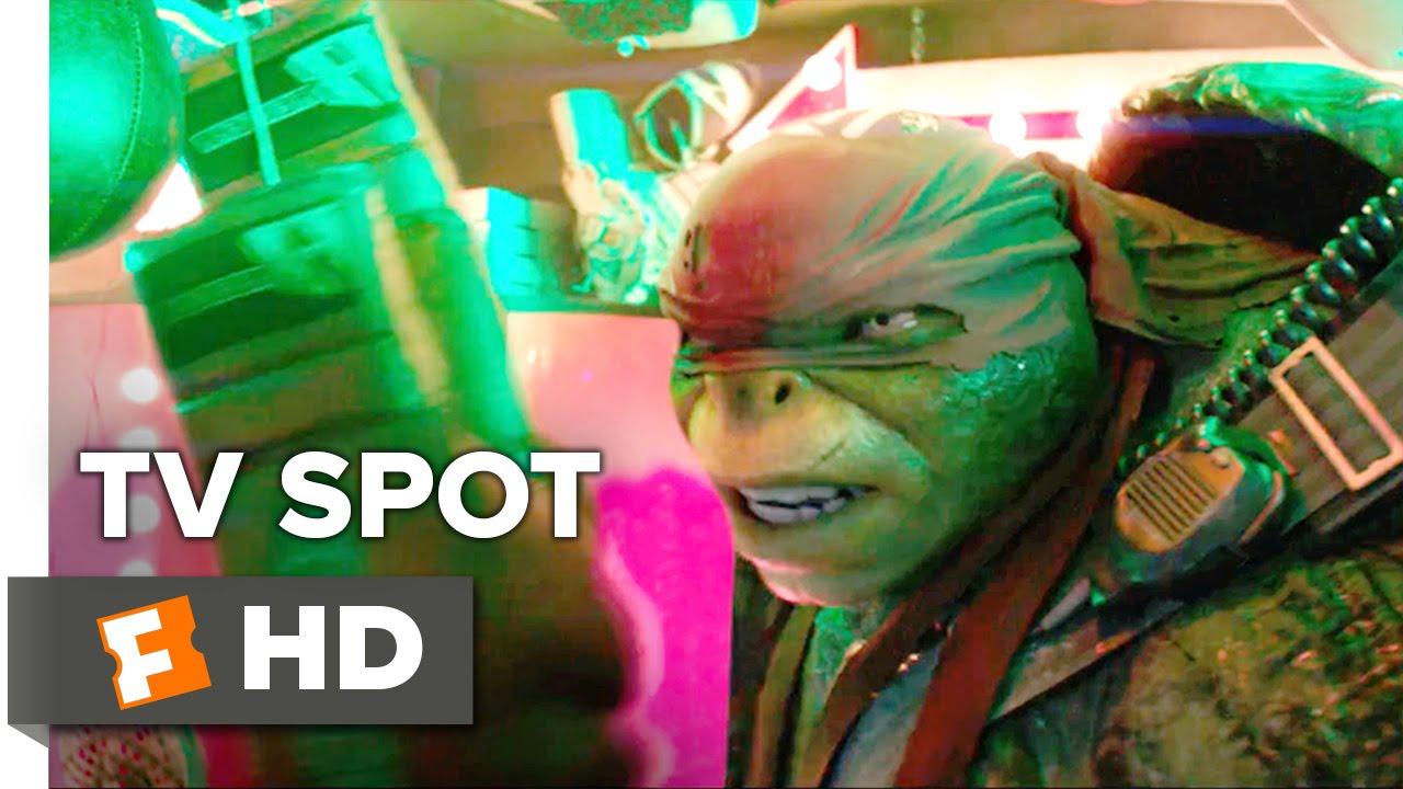 Teenage Mutant Ninja Turtles Out Of The Shadows Tv Spot Raphael