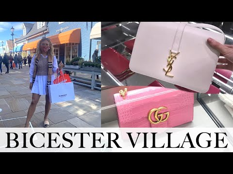 COME LUXURY SHOPPING WITH ME AT BICESTER VILLAGE - Designer Shopping