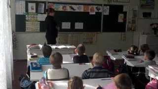 урок первого класса