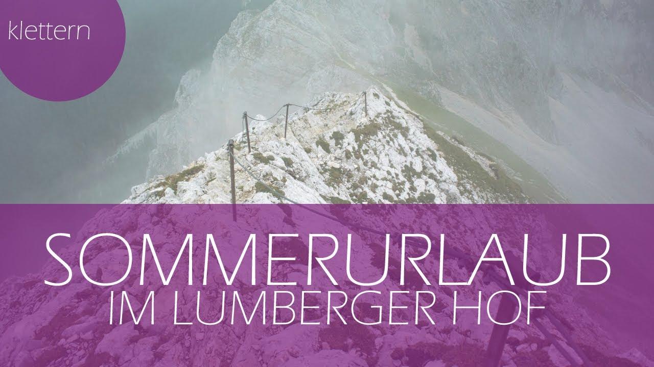 Klettersteig Tannheimer Tal : Friedberger klettersteig im tannheimer tal youtube