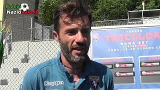 Torneo Tricolore Roma Est: le parole di Fioratti (All. Torino)