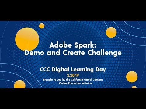 Teaching with Adobe Spark Video Guide - Online Network of