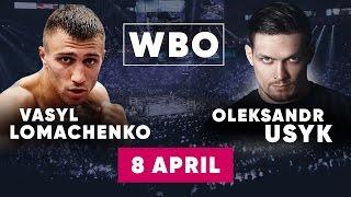 Бокс: Ломаченко - Соса | Усик - Хантер, Гвоздик - Юниески обзор на бой Lomachenko Usyk 08.04.17