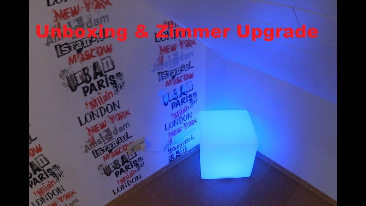 Led Wurfel Unboxing Zimmer Upgrade Youtube