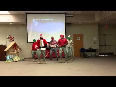 US Army Tagalog Christmas Dance Skit to All I Want For Christmas Is You.