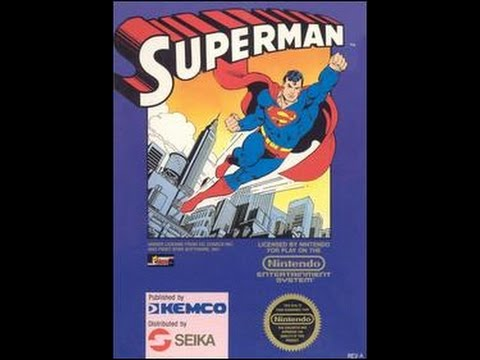 Superman (Kemco game) - NES 5 min