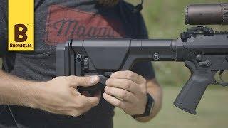 The Magpul PRS GEN3 AR15 / M16 Stock