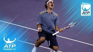 Federer v Blake: ATP Finals 2006 Final Highlights