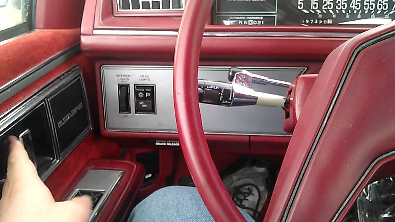 The fuse box in a 86 Buick LeSabre - YouTubeYouTube