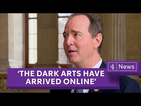 Adam Schiffinterview on Cambridge Analytica: 'The dark arts have arrived in full force online'