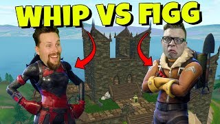 WHIPPIT vs FIGGEHN I FORTNITE *HAUNTED HILLS* Playground