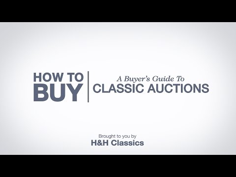 A Buyer's Guide To Classic Car Auctions