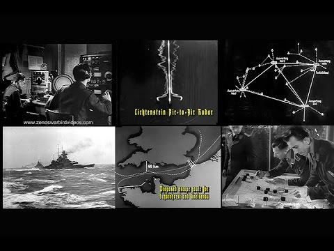 German Radar detection & signals jamming in World War 2 (1943-Restored)