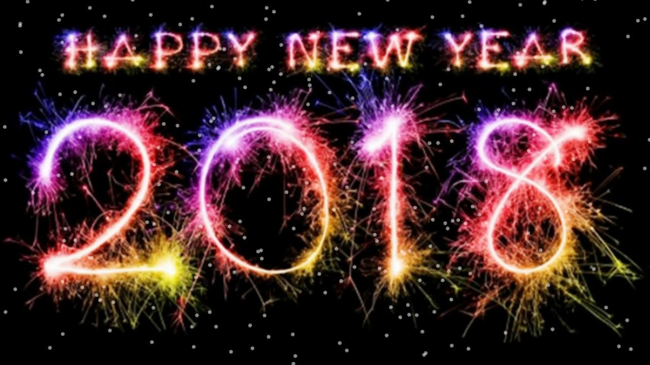 Happy New Year 2018 Wishes | Whatsapp Facebook Video | E card ...