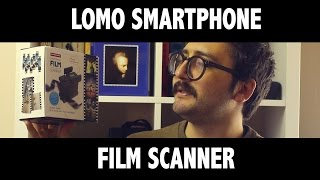 Scanning with phone and camera (lomo review)