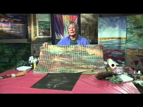 Mickey Lawler Teaches You to Paint Landscape Fabric