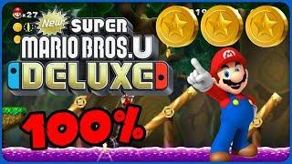 5-6 Seesaw Bridge ❤️ New Super Mario Bros. U Deluxe ❤️ 100% All Star Coins