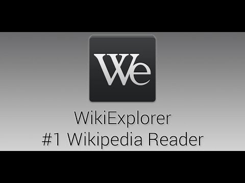 WikiExplorer - the best Wikipedia reader for Android - Official Trailer