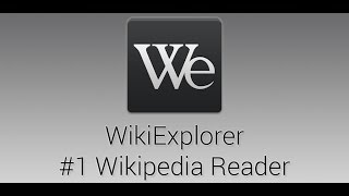 Video WikiExplorer - the best Wikipedia reader for Android - Official Trailer download MP3, 3GP, MP4, WEBM, AVI, FLV Agustus 2018