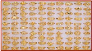 ALTIN YÜZÜK MODELLERİ (Yeni Harika Tasarımlar Latest Women Gold Finger Ring Designs Collections)