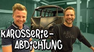 Nach dem KTL wird die Karosserie nun abgedichtet! VW Bulli Restauration Teil 9 | Philipp Kaess |