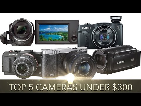 Top 5 Cameras For YouTube and Video Under $300 (2016)
