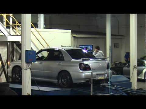 '03 WRX 18psi cobb stage 2 Ansa exhaust 273whp dyno