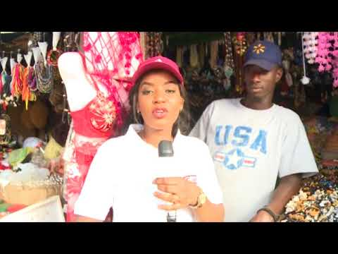GRTS Ngonal show in Banjul market part 2
