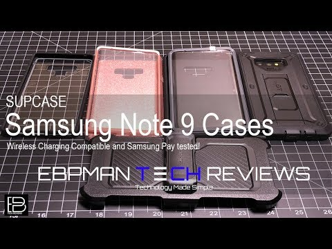100% authentic where to buy coupon code Supcase Samsung Galaxy Note 9 Cases Review - YouTube