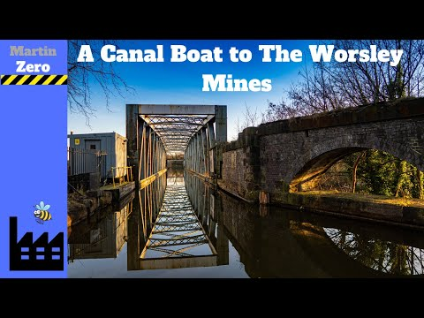 A Boat To The Worsley Mines Along The Bridgewater Canal