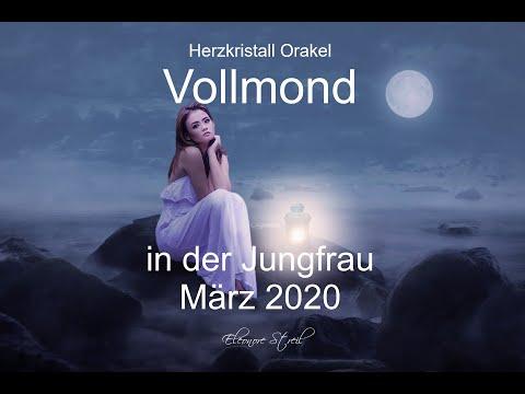 Vollmond Orakel in der Jungfrau 9.März 2020 -  Vertrauen versus Kontrolle