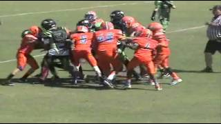 2015 U12 Lee County Hawks Zach Malpica Preseason Spring Highlights