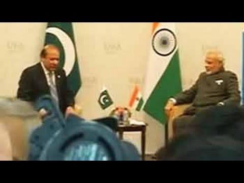 PM Modi-Nawaz Sharif meet for bilateral talks in Russia; Lakhvi, terror on agenda