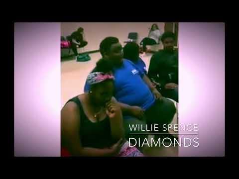 Willie spence diamonds cover