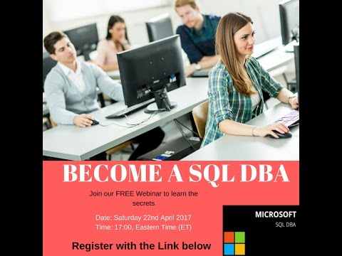 Become a SQL DBA and Data Analyst in 8 Weeks