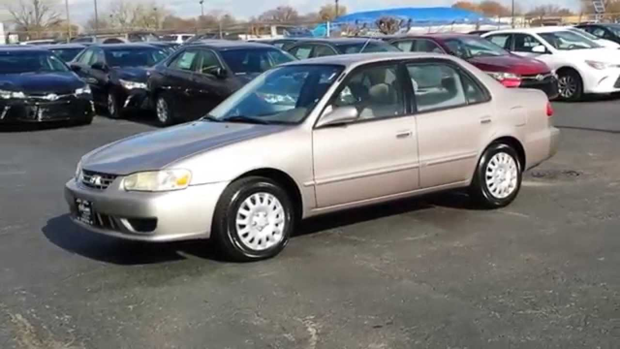 2001 Toyota Corolla Ce At Oak Lawn Toyota Serving Chicago Orland