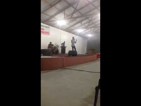 Psalmist Jermaine Williams ,  ( Holy is THE LORD GOD ALMIGHTY )