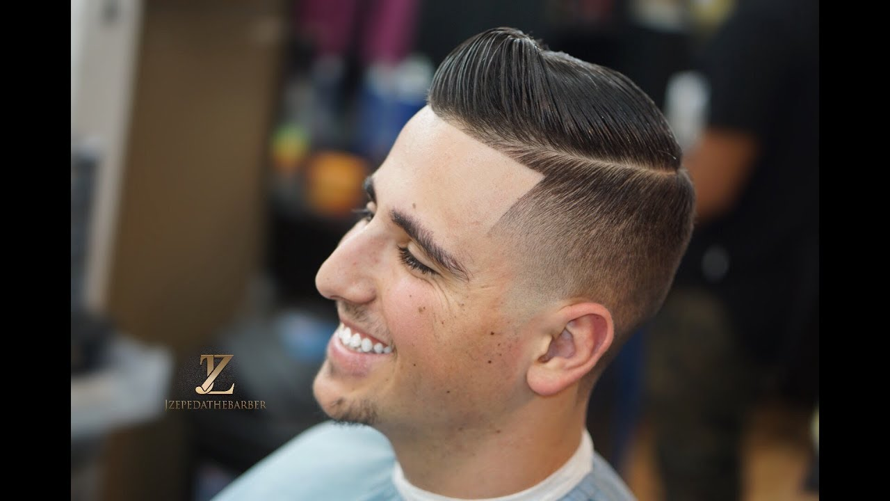 HOW TO CUT A TAPER FADE/ COMB OVER
