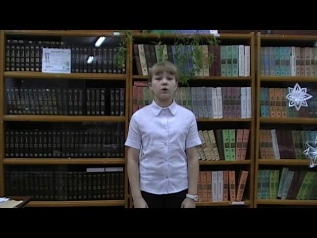 Изображение предпросмотра прочтения – АлександраМухачёва читает произведение «Крестьянские дети» Н.А.Некрасова